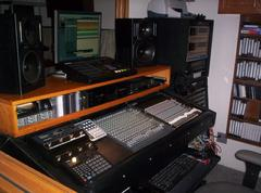 Control Room at Millennium Studio