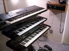 Prime Keyboard Station at Millennium Studio